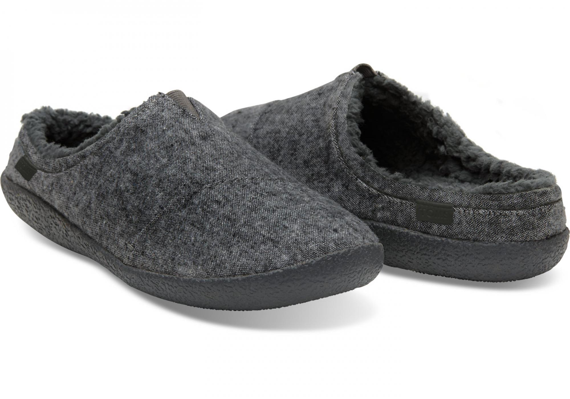 707415ad4033 Pánske sivé papuče TOMS Textile Berkeley