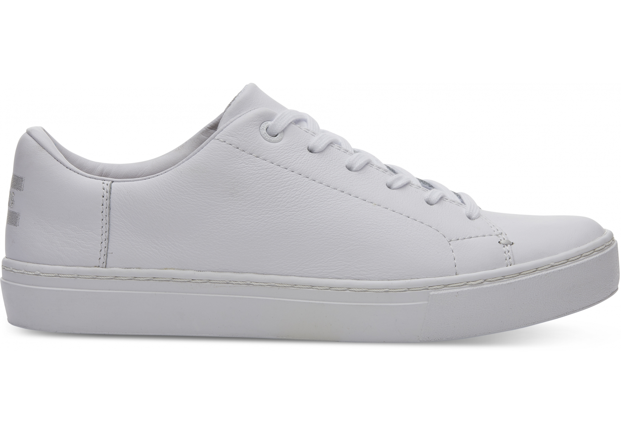 c8a7b8a57218c URBANLUX | Dámske biele tenisky TOMS Leather Lenox