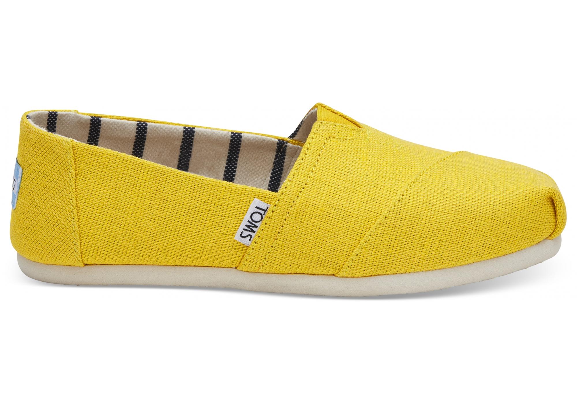 a865ce1b7f71a Dámske žlté TOMS Dandelion Venice Collection Alpargatas