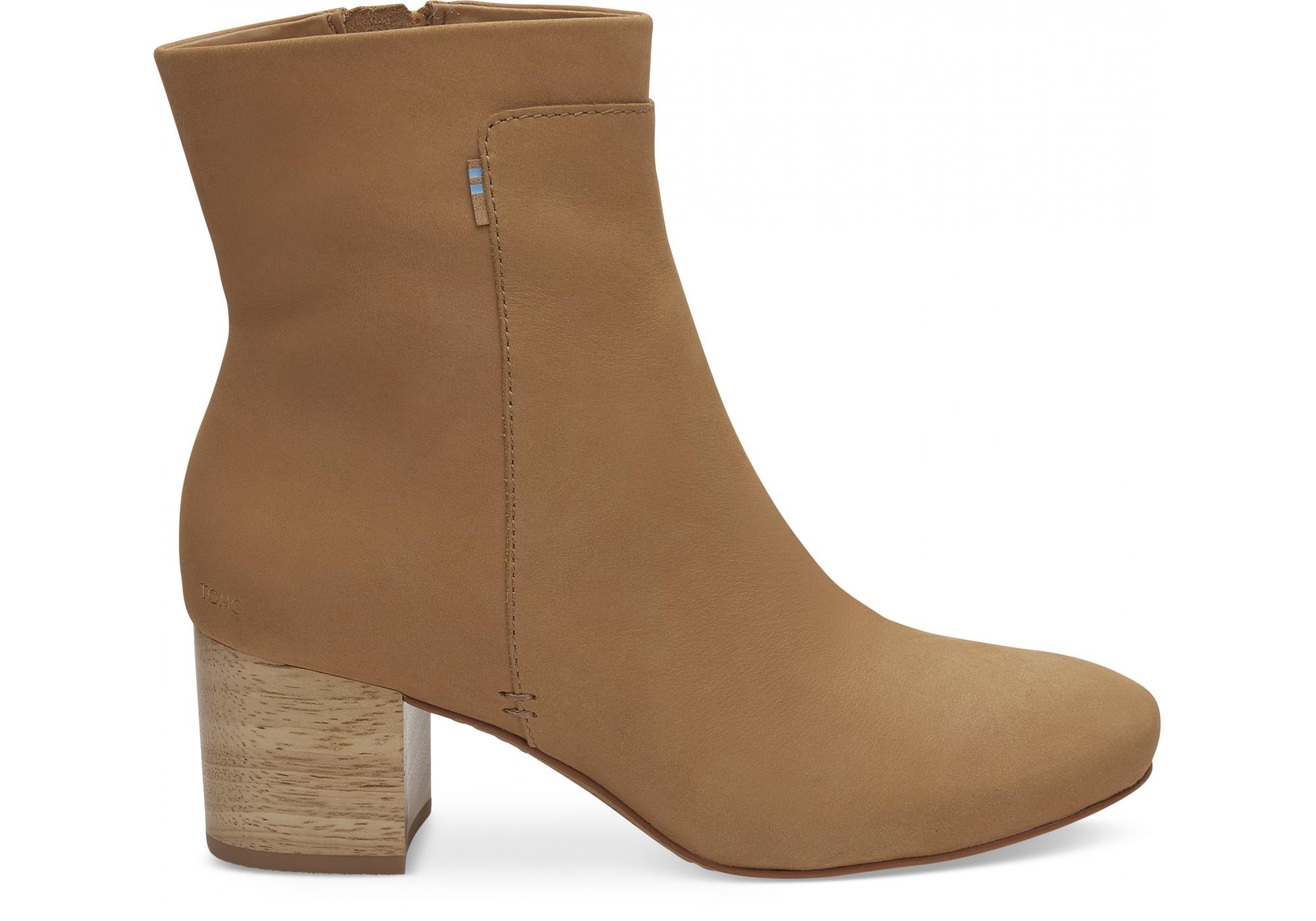 a4dc326c8a Dámske hnedé členkové topánky TOMS Evie