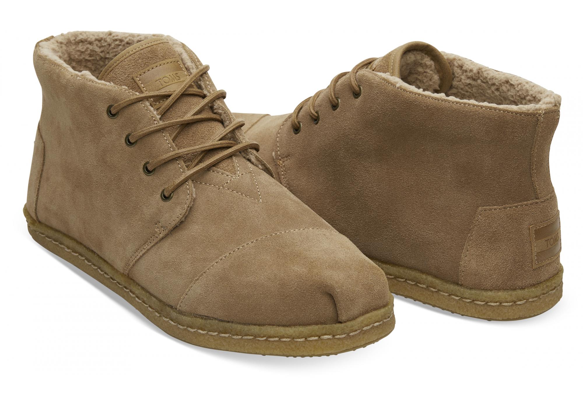 Pánske hnedé členkové topánky TOMS Venice Collection 1af68b15664