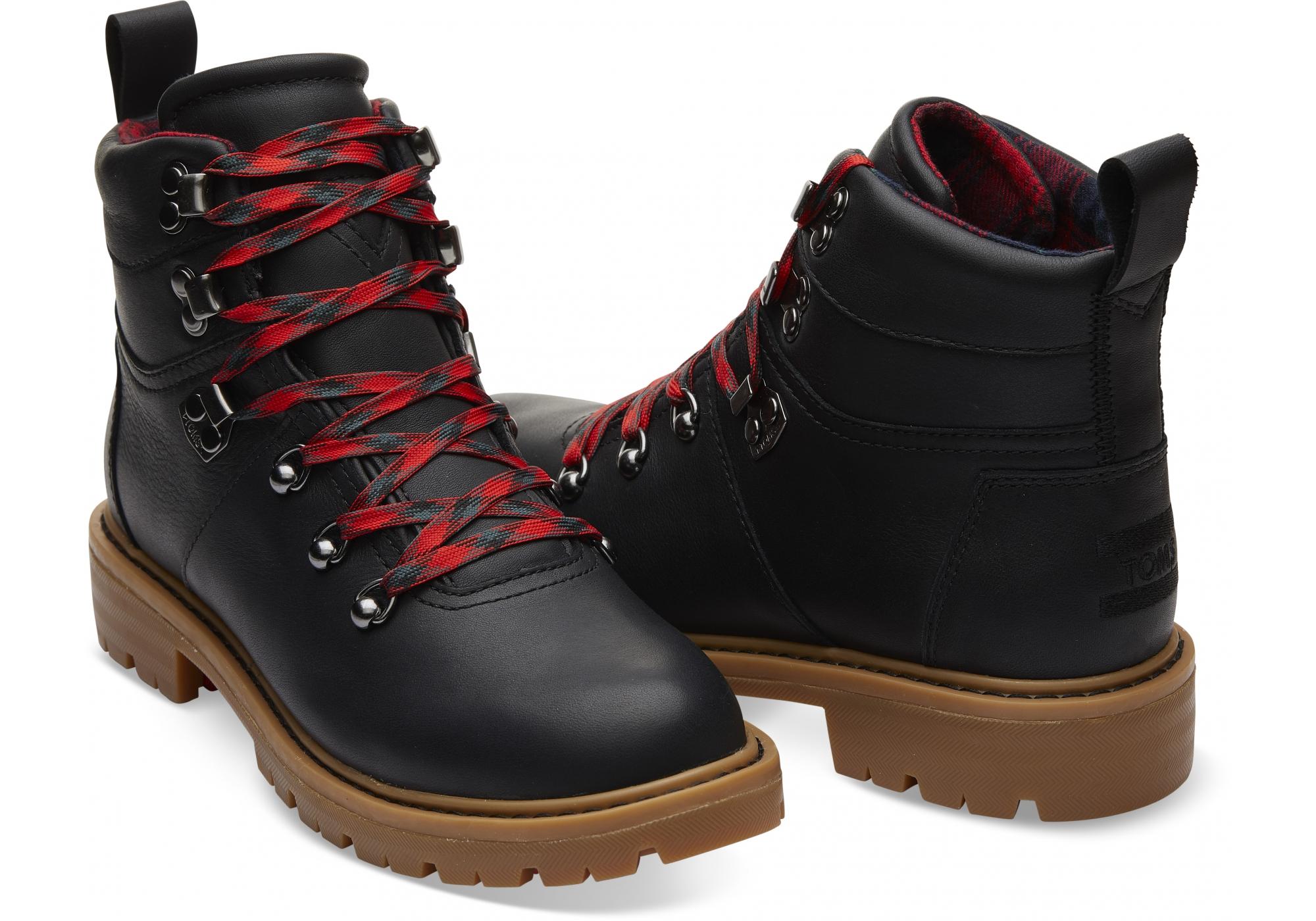 bc43e9213203 Dámske čierne nepremokavé členkové topánky TOMS Summit