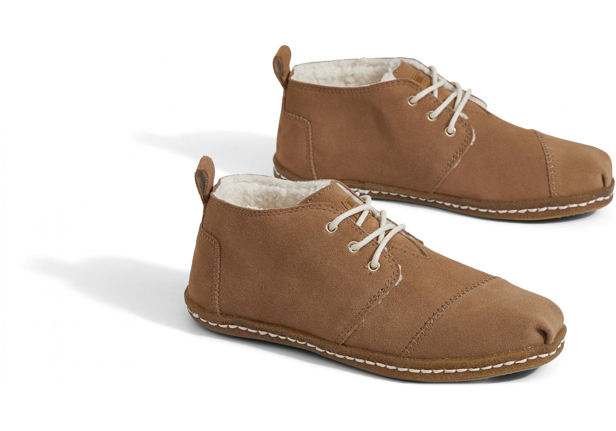 0c76bd4cf0 Dámske hnedé členkové topánky TOMS Bota Venice Collection