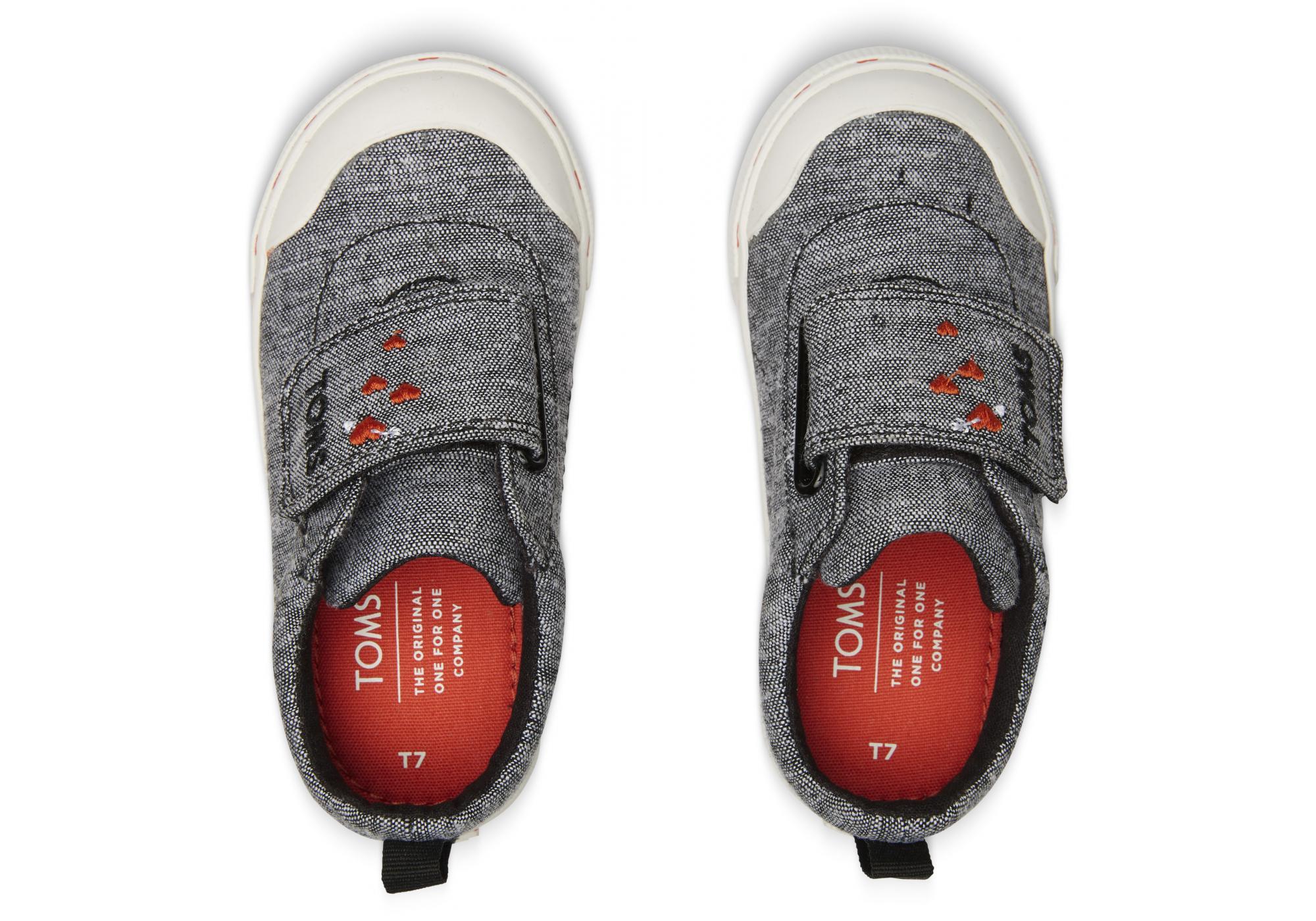 a7c91493d73 Detské šedé tenisky TOMS Tiny Sweethart Doheny Sneakers