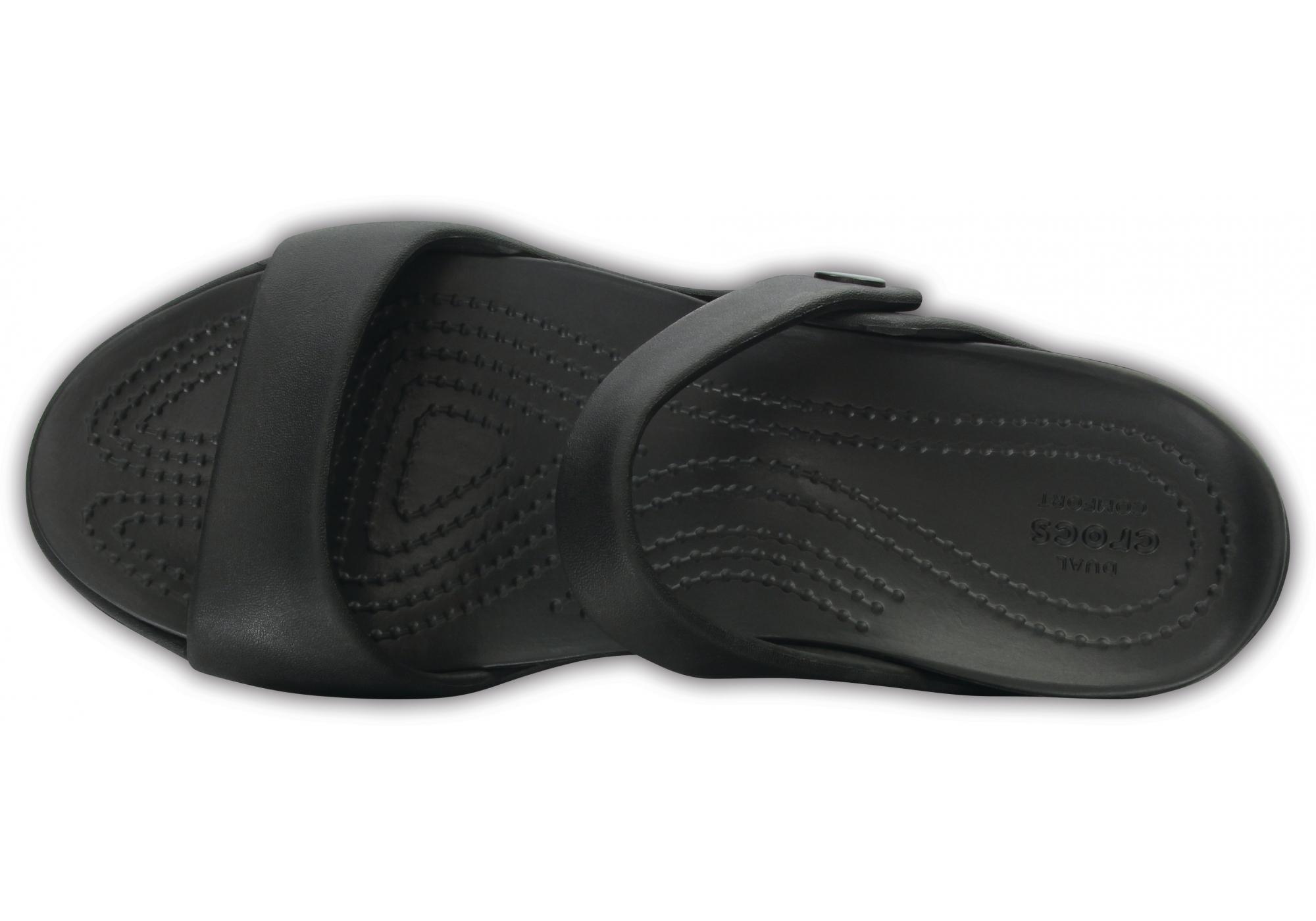 a3a19a022b dámské pantofle Crocs Cleo V Sandal W