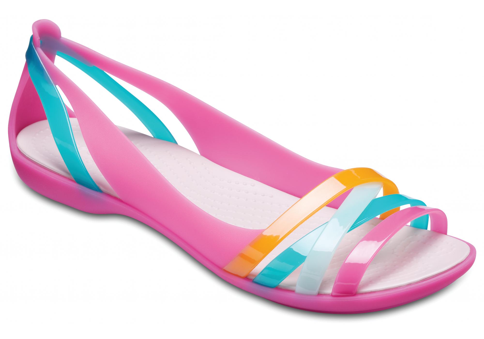 c12b05606c9 dámské balerínky Crocs Isabella Huarache Flat W