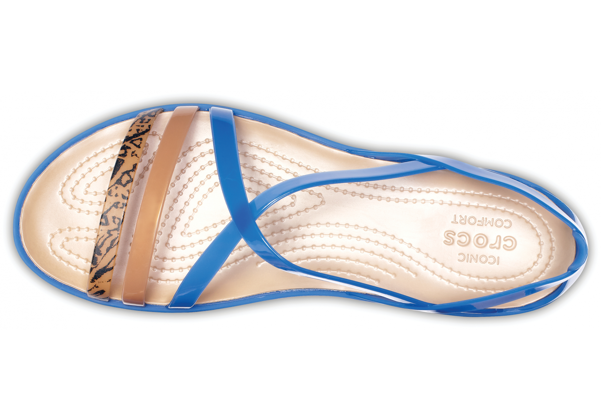 4f467ecae1760 dámské sandály Crocs Isabella Grph Strappy Sandal | Urbanlux