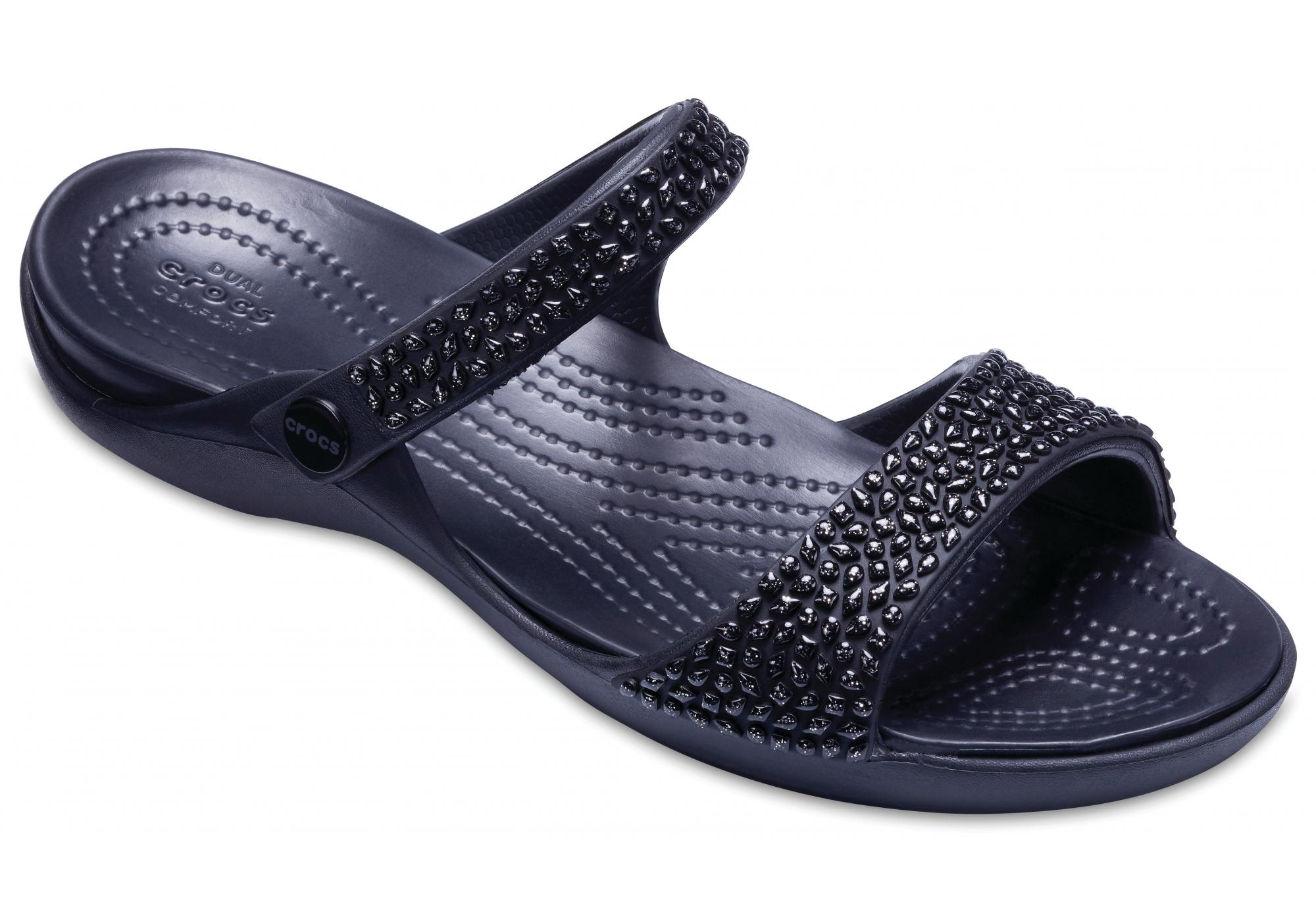 9ad913d66d dámské sandály Crocs Cleo V Diamante Sandal W