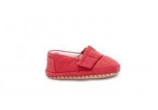 Detské červené TOMS Tiny Crib Alpargatas