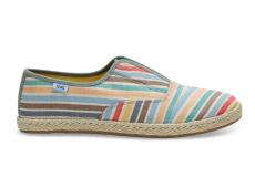 Dámske farebné tenisky TOMS Stripe Palmera