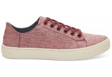 Dámske ružové tenisky TOMS Woven Melange Lenox