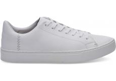 Pánske biele tenisky TOMS Leather Lenox