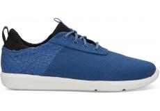 Pánske modré tenisky TOMS Basketweave Cabrillo