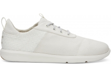 Pánske biele tenisky TOMS Basketweave Cabrillo