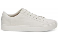 Pánske biele tenisky TOMS Canvas Lenox