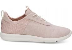 Dámske ružové tenisky TOMS Chambray Cabrillo