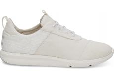 Dámske biele tenisky TOMS Canvas Cabrillo
