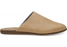 Dámske hnedé papuče TOMS Leather Jutti Mule