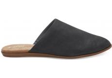 Dámske čierne papuče TOMS Leather Jutti Mule