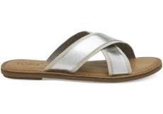 Dámske strieborné sandály TOMS Specchio Viv