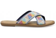 Dámske farebné sandály TOMS Tribal Viv