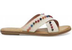 Dámske krémové sandálky TOMS Oxford Viv
