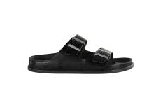 Čierne šľapky Birkenstock Arizona Premium Leather