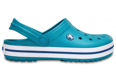 Crocband - Turquoise/Oyster M4/W6