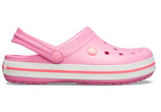 Crocband Pink Lemonade/White M4W6