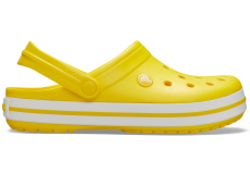 Crocband Lemon/White M4W6