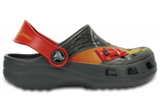 Classic McQueen Clog K  - Charcoal/True Red C4/C5