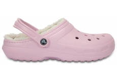 Classic Lined Clog  - Ballerina Pink/Oatmeal M5/W7