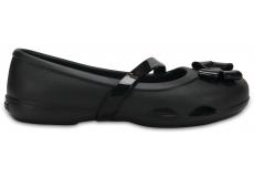 Crocs Lina Flat K Black C10