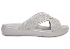 Crocs Sloane Embellished XStrap - Platinum W10