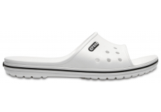 Crocband II Slide White/Black
