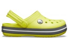 Crocband Clog K Citrus/Slate Grey C10