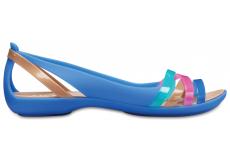 Isabella Huarache 2 Flat W Blue Jean/Gold W5