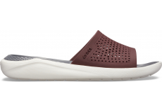 LiteRide Slide Burgundy/White