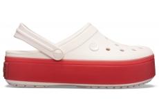 Crocband Platform Clog Barely Pink/Pepper M4W6