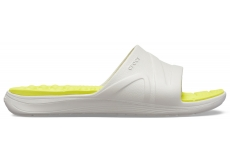Reviva Slide Pearl White/Citrus M10W12