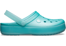 Crocband Ice Pop Clog Ice Blue M4W6