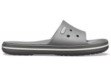 Crocband III Slide Slate Grey/White