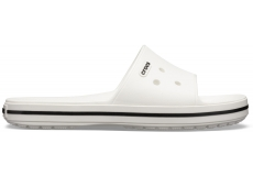 Crocband III Slide White/Black M10W12