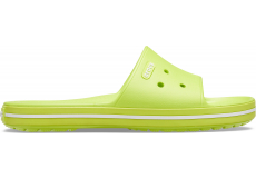 Crocband III Slide Lime Punch/White