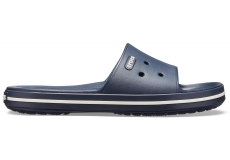 Crocband III Slide Navy/White M10W12