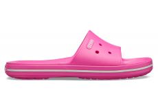 Crocband III Slide Electric Pink/White M4W6
