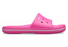 Crocband III Slide Electric Pink/White