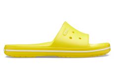 Crocband III Slide Lemon/White M4W6