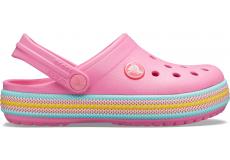Crocband Sport Cord Clog K Pink Lemonade C10