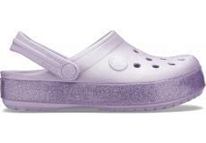 Crocband Glitter Clog K Lavender C10
